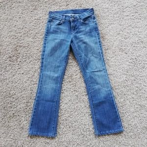 7 For All Mankind Skinny Jeans 24